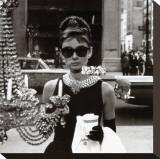 Hepburn, Audrey Reproduction sur toile tendue