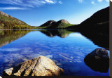 Dedication: Jordan Pond Stretched Canvas Print by Dermot Conlan