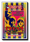 Cream at the Whiskey A-Go-Go Stretched Canvas Print by Dennis Loren