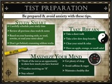Test Preparation Framed Canvas Print