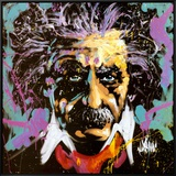 Einstein Framed Canvas Print by David Garibaldi