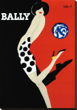 Bally Stretched Canvas Print