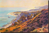 Malibu Stretched Canvas Print by John Comer