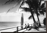 Oahu, 1955 Stretched Canvas Print by Laurence Hata