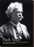 Mark Twain Stretched Canvas Print