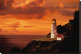 Success: Lighthouse Stretched Canvas Print