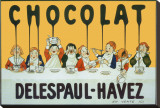 Chocolat Delespaul Havez Stretched Canvas Print