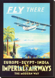 Imperial Airways Stretched Canvas Print