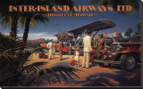 Inter-Island Airways Stretched Canvas Print by Kerne Erickson