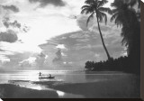 Tahiti, 1938 Stretched Canvas Print