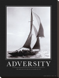 Adversity Stretched Canvas Print