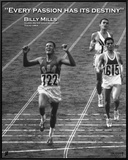 Billy Mills: Destiny Framed Canvas Print