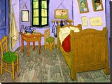 The Bedroom at Arles, c.1887 Stretched Canvas Print