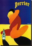 Perrier Stretched Canvas Print