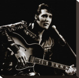 Elvis, 1968 Stretched Canvas Print