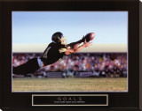 Goals: Football Action Stretched Canvas Print
