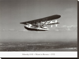Sikorsky S-40, Miami to Havana, 1932 Stretched Canvas Print by Clyde Sunderland