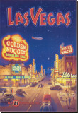Las Vegas, Nevada Stretched Canvas Print by Kerne Erickson
