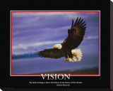 Patriotic Vision Stretched Canvas Print