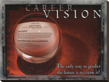 Career Vision Stretched Canvas Print