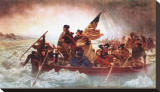 Washington Crossing the Delaware, c.1851 Stretched Canvas Print by Emanuel Gottlieb Leutze
