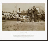 Lou Gehrig, the Luckiest Man on the Face of This Earth Stretched Canvas Print