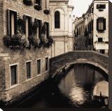 Ponti di Venezia II Stretched Canvas Print by Alan Blaustein