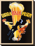 Birra Itala Pilsen, 1920 Stretched Canvas Print