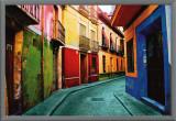 Granada, Spain Framed Canvas Print by Ynon Mabet