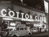 Cotton Club Stretched Canvas Print by Michael Ochs