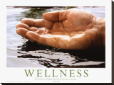 Wellness Stretched Canvas Print