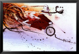 Hunter on Ducati Psters por Ralph Steadman