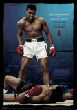 Ali vs Liston - Color - 3D Poster Print