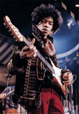 Jimi Hendrix - - 3D Poster Photo