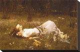 Ophelia, c.1889 Stretched Canvas Print