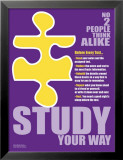 Study Your Way Posters