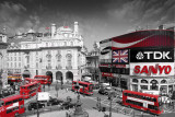 LONDON - Picadilly Circus Kunstdruck