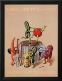Cookin' Plakater af Greg Brown