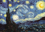 Van Gogh - Starry Night - 3D Poster Posters