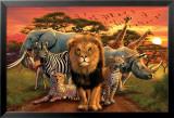 African Kingdom Kunstdrucke