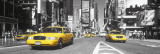 Times Square - yellow cab Poster