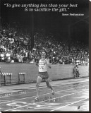 Steve Prefontaine: The Gift Stretched Canvas Print