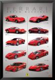 Ferrari - Dream Machines Poster