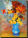 Vase of Flowers, c.1887 Stretched Canvas Print