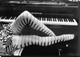 Pernas de piano Impressão em tela esticada por Ben Christopher