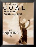Ultimate Goal Kunstdrucke