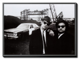 Blues Brothers Framed Canvas Print