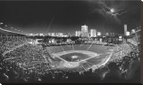 Wrigley Field Stretched Canvas Print by Scott Mutter
