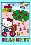 Hello Kitty - Bicycle - 3D Poster Photo