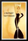 L&#39;Instant Taittinger Grace Kelly Affiche